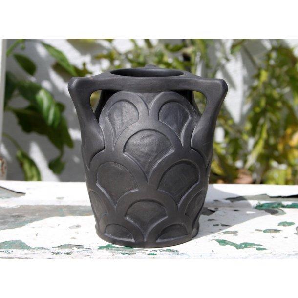 L.Hjorth Terracotta vase No. 763