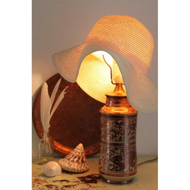 Fransk lustra bordlampe