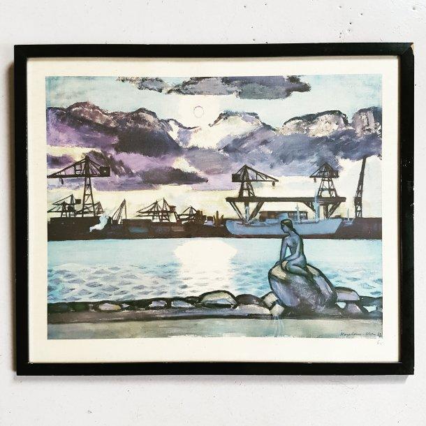 Thorvald Hagedom-Olsen litografi/tryk