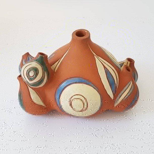 Retro keramik vase/skulptur
