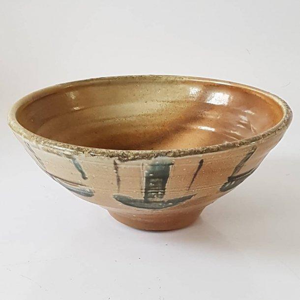 Charlotte Thorup stor keramik skål/fad