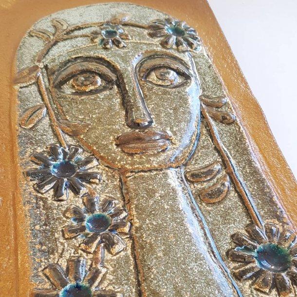 Søholm Bornholm No. 3554 keramik relief