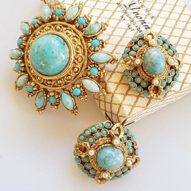 Vintage smykke sæt