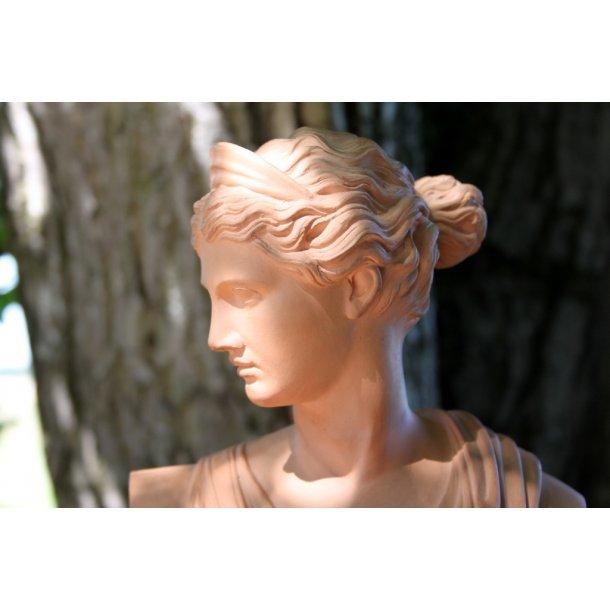L.Hjorth Terracotta buste No. 437B