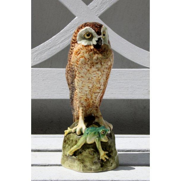 Art Nouveau Royal Dux majolica figur